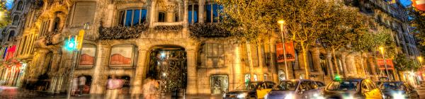 La Pedrera (Casa Mila) w Barcelonie