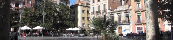 Le quartier de Gràcia