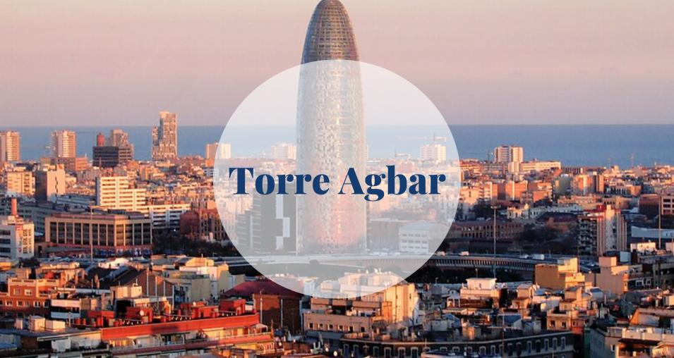 Torre Agbar - Barcelona Home