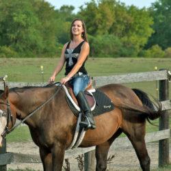 ¿Quieres montar a caballo?