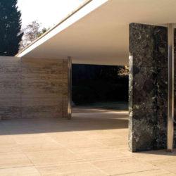 El Pabellón Van Der Rohe