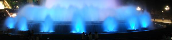 La Fontaine Magique de Barcelone