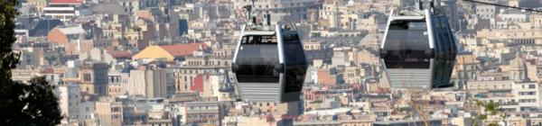 Téléphérique à Barcelone