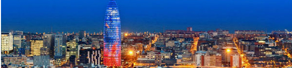 Torre Agbar à Barcelone