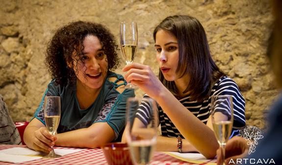 cava tasting Barcelona