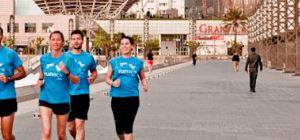 Running in Barcelona