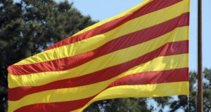Cataloniens flag
