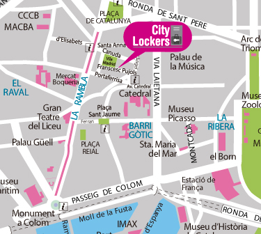 Map City Lockers