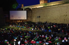 Outdoor film festival Barcelona