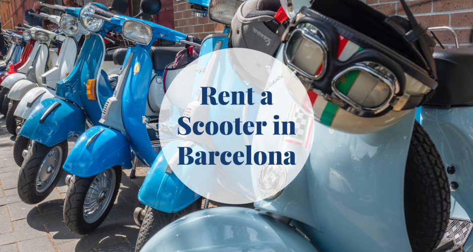 Rent a Scooter in Barcelona Barcelona-Home