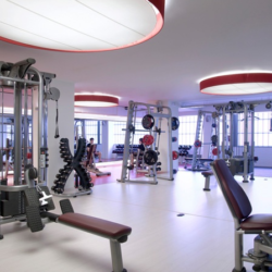 Club Metropolitan fitness room
