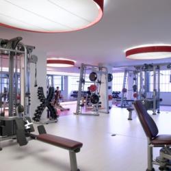 Club Metropolitan fitness room