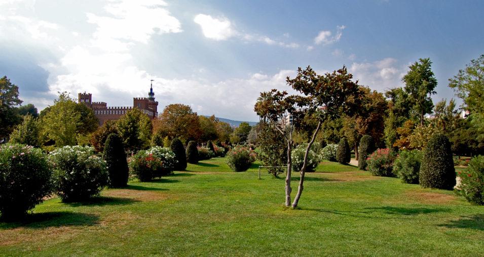 Die Parks in Barcelona