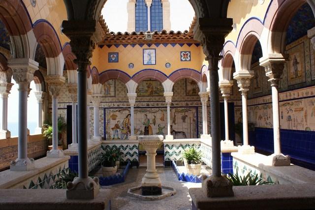 Claustre Palau Maricel Sitges