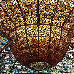 Art in Palau de la Musica Catalana