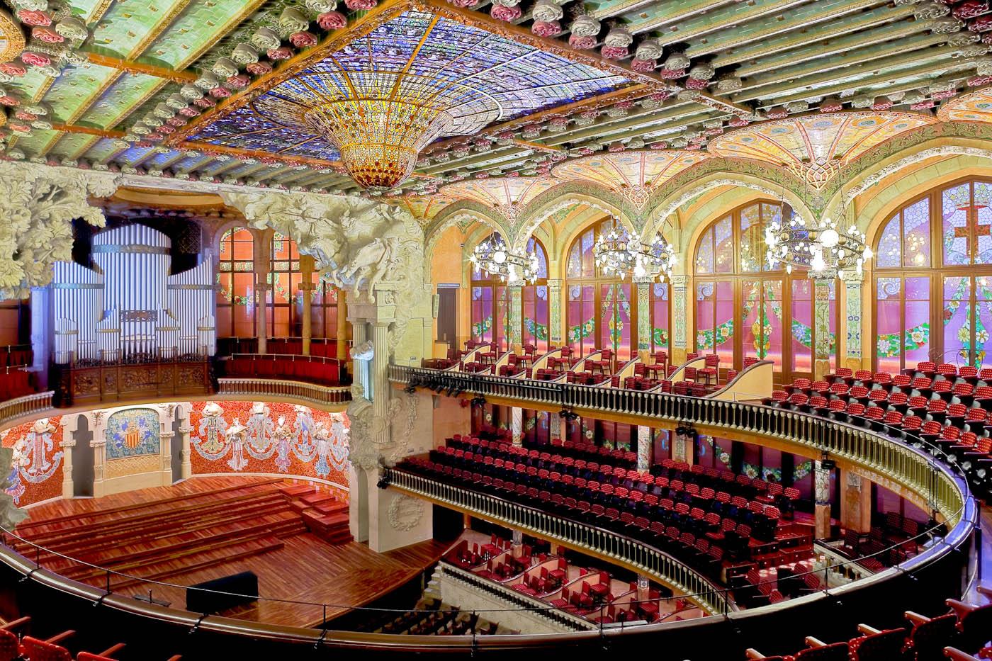 palau de la musica catalana barcelona home