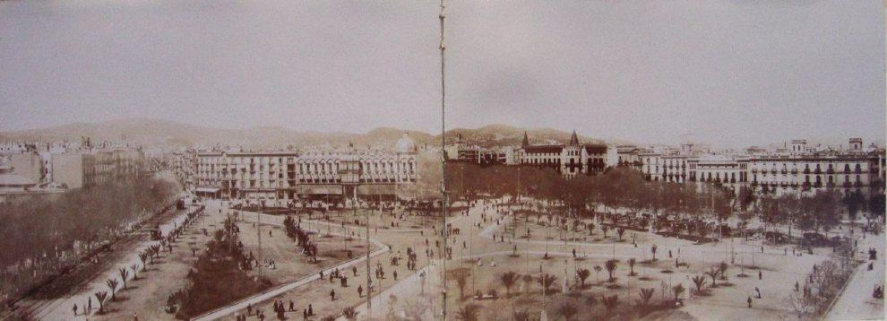 Plaza Catalunya 1900