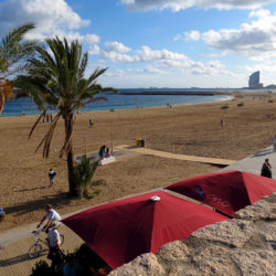 Barcelona Beaches in Spain