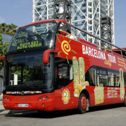 Barcelonas sightseeing bus