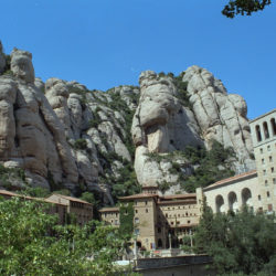 Beautiful view of Montserrat Catalonia Spain