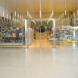 caixaforum-barcelona art library