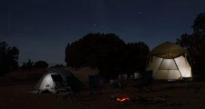 Camping in Barcelona