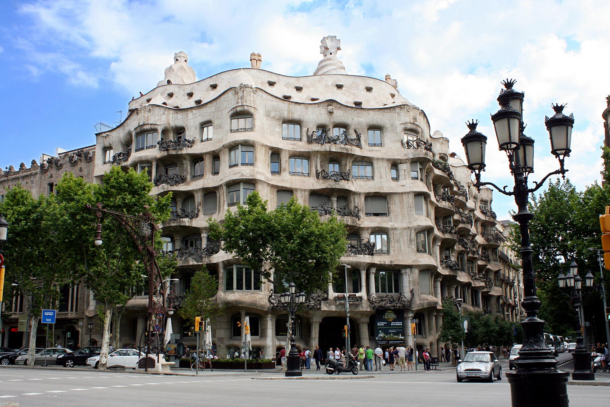 La pedrera barcelona blog - Casa mila la pedrera ...