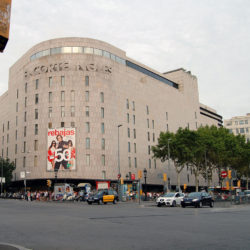 El Corte Ingles in the Daytime