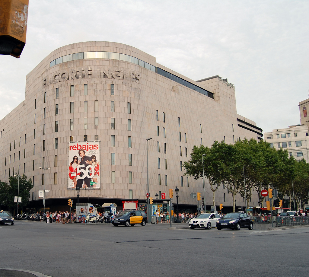 El corte ingles barcelona home for El corte ingles colgantes viceroy
