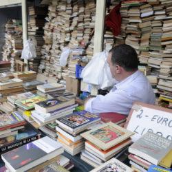 Encants Vells Market Barcelona Spain Book Stall