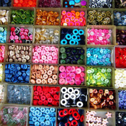 Encants Vells Wall Button Stall