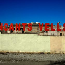 Encants Vells Wall sign