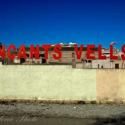Encants Vells Wall sign
