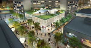 Glories opend space shopping centre feature