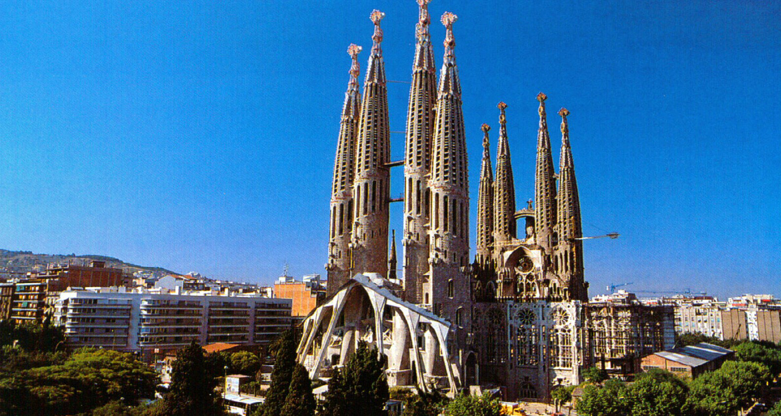 La Sagrada Familia. Source: Barcelona Home