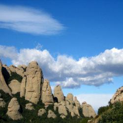 Montserrat landscape View Catalonia Spain