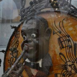 Museu de la Xocolata Satchmo chocolate sculpture