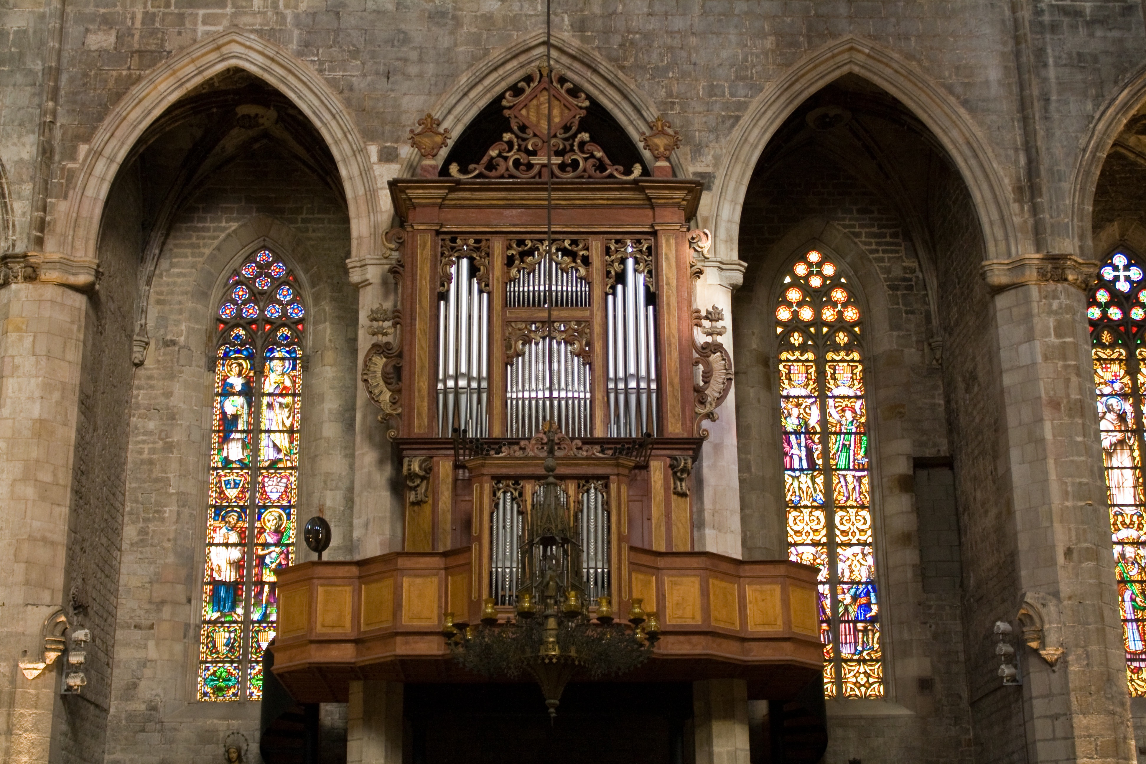 Organ of Santa Maria del Mar, Barcelona