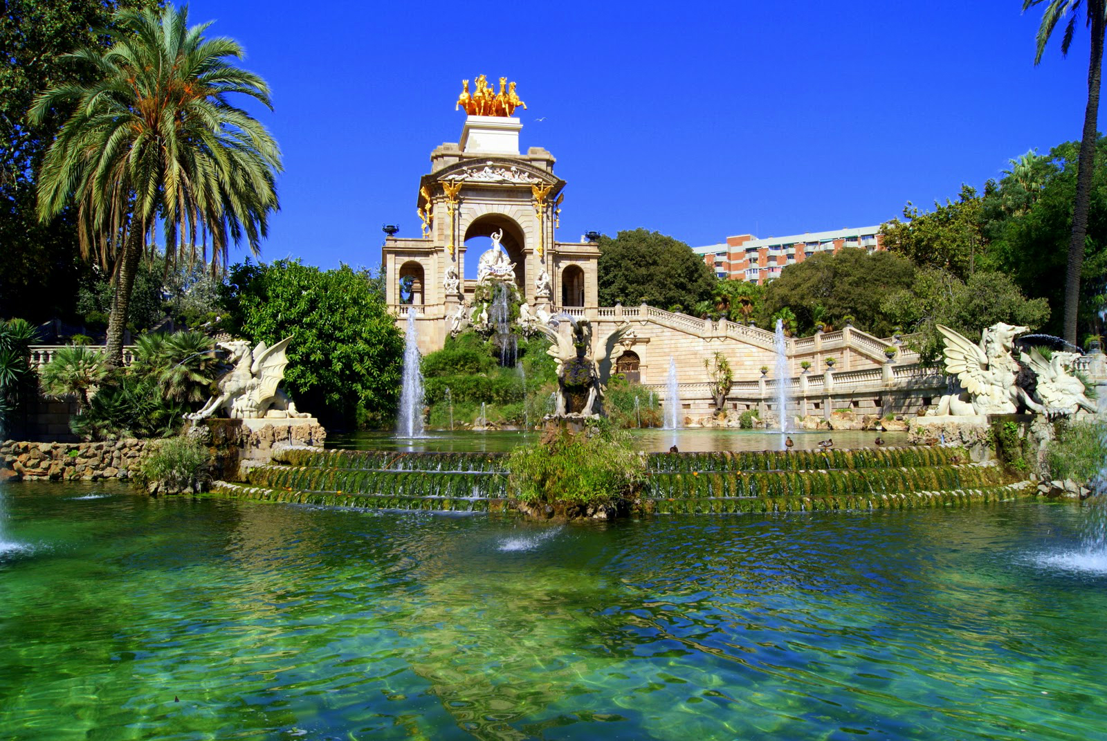 Park Ciutadella amazing view feature