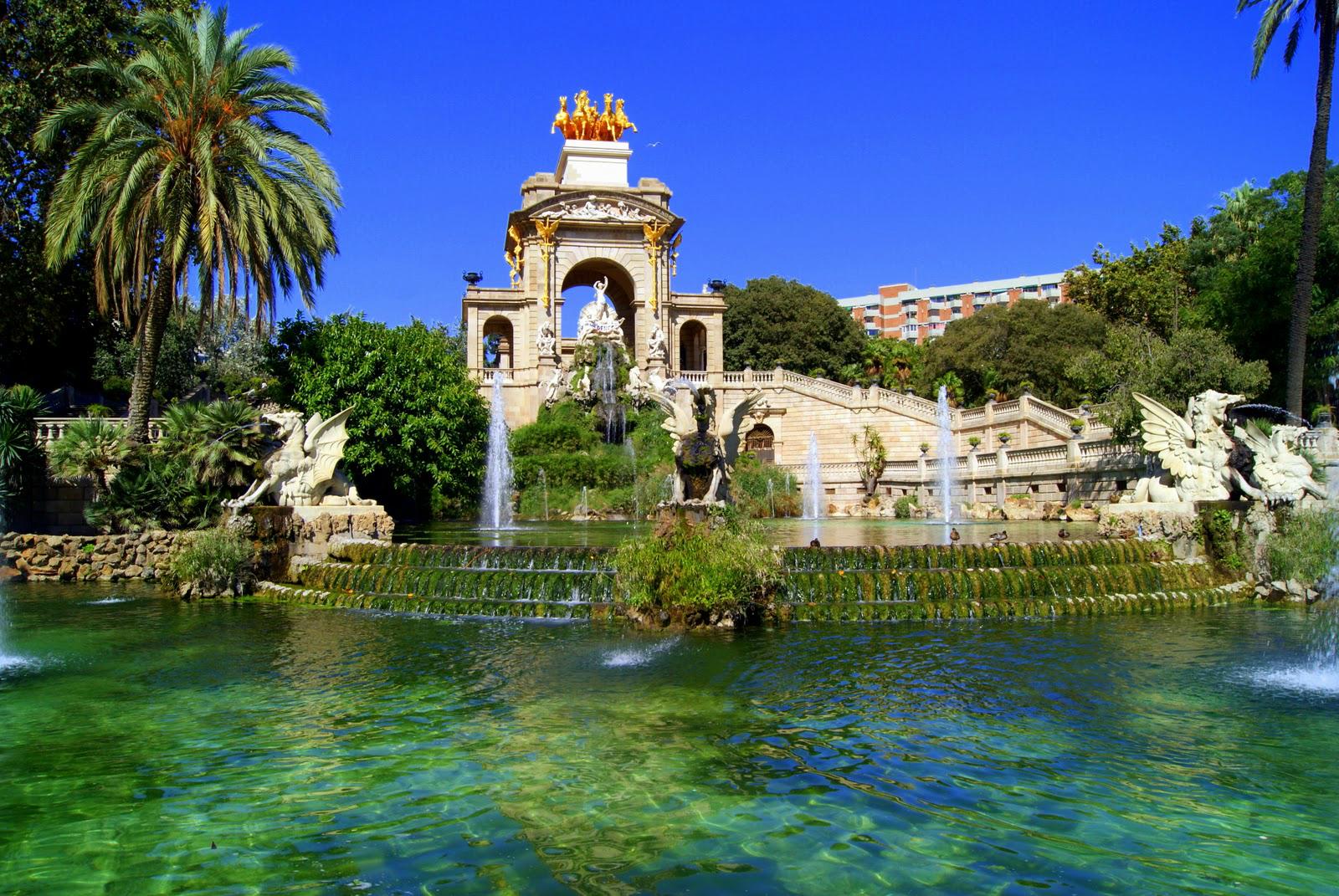 Barcelona: Ciutadella Park Barcelona