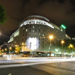 Plaza Catalunya El Corte Ingles Barcelona Spain