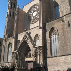Santa Maria Del Mar Barcelona Spain