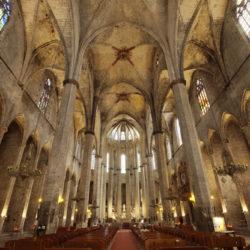 Santa Maria Del Mar interior