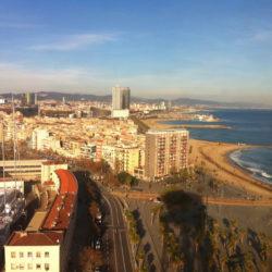 Sun Sea Sand and Land Barcelona Beaches, Spain