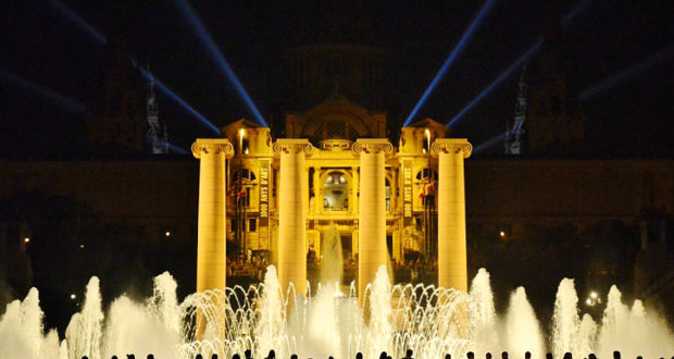 The Magic Fountain of Montjuic Barcelona