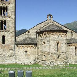 Vall De Boi stunning View of Romenesque Church