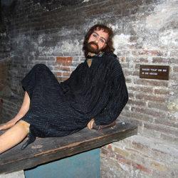 wax museum wax man