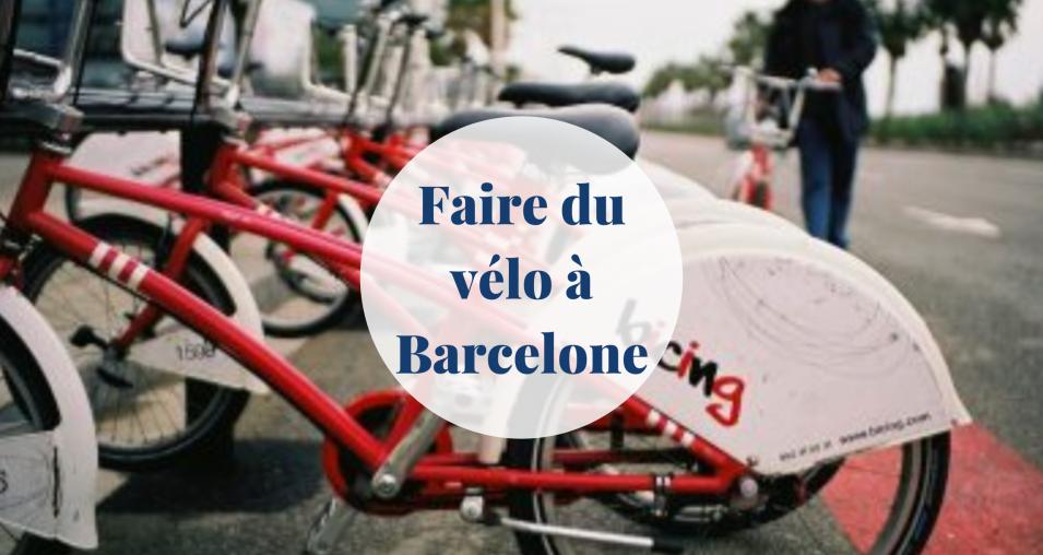 Faire du vélo à Barcelone; Barcelona-Home