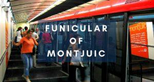 Funicular of montjuic