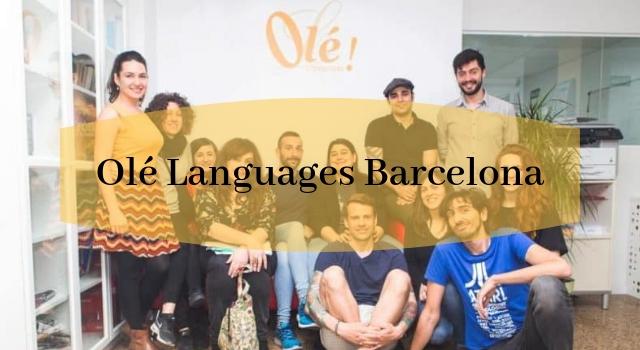 Olé Languages Barcelona